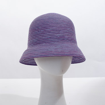 Lilac Cloche Blocked Plain Hat Base
