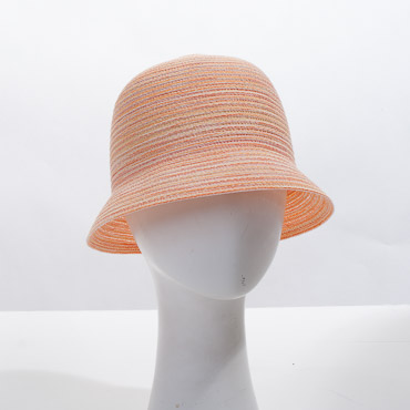 Tangarine Cloche Blocked Plain Hat Base