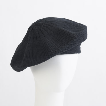 Cotton Knitted Beret