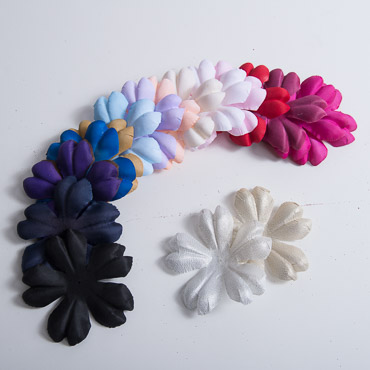 3D Satin Decorative flower Petals
