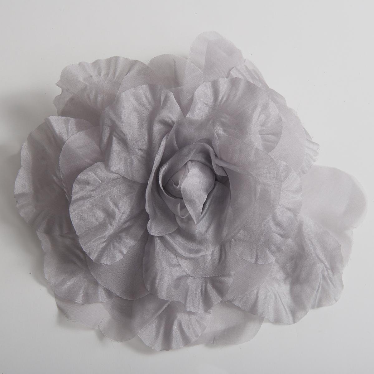 Silver silk open rose flower heads 802053 sv sun yorkos zoria silver open rose silk flower trims mightylinksfo