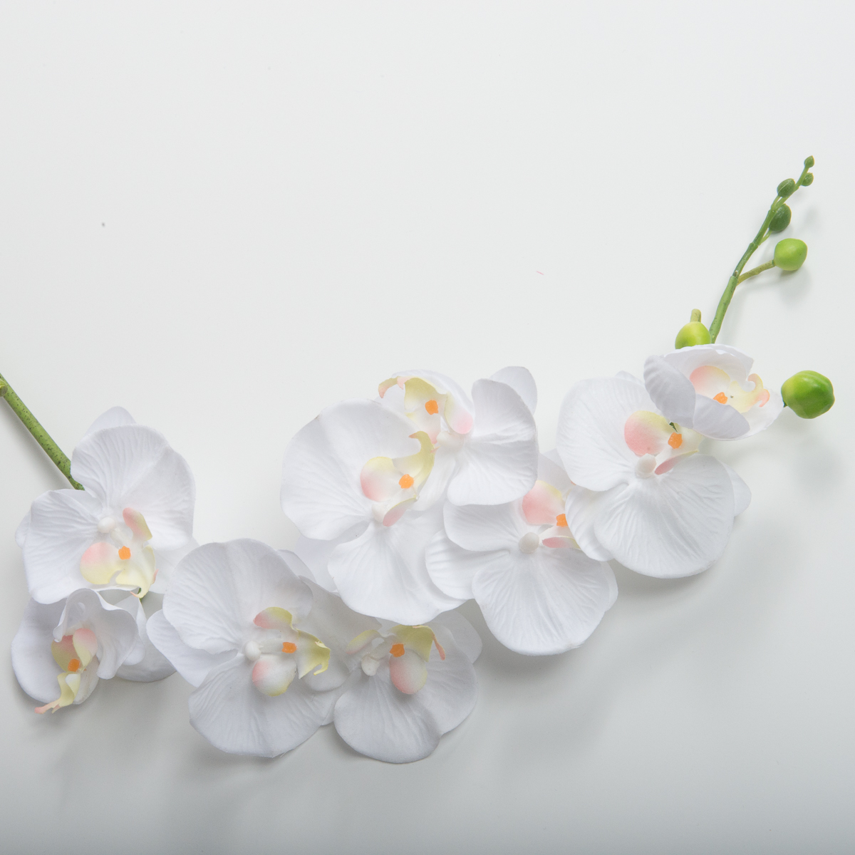 18 Inches White Orchid Flower Trims 802058 Sun Yorkos Zoria
