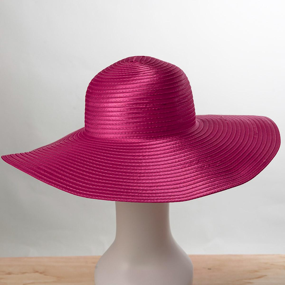 Fuchsia Satin Braid Swinger Hats 805106 Fu Sun Yorkos Zoria