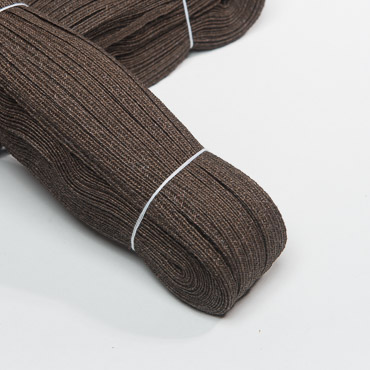 Slate Brown 5-6 mm Raffia Poly Straw Braid - 144 YD