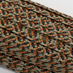 5 5-6Mm Green / Rust Pattern Dull Polypropylene Straw Straw Braid; 144YD