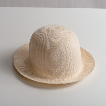 Ivory Small Brim Toyo Paper Hat Body