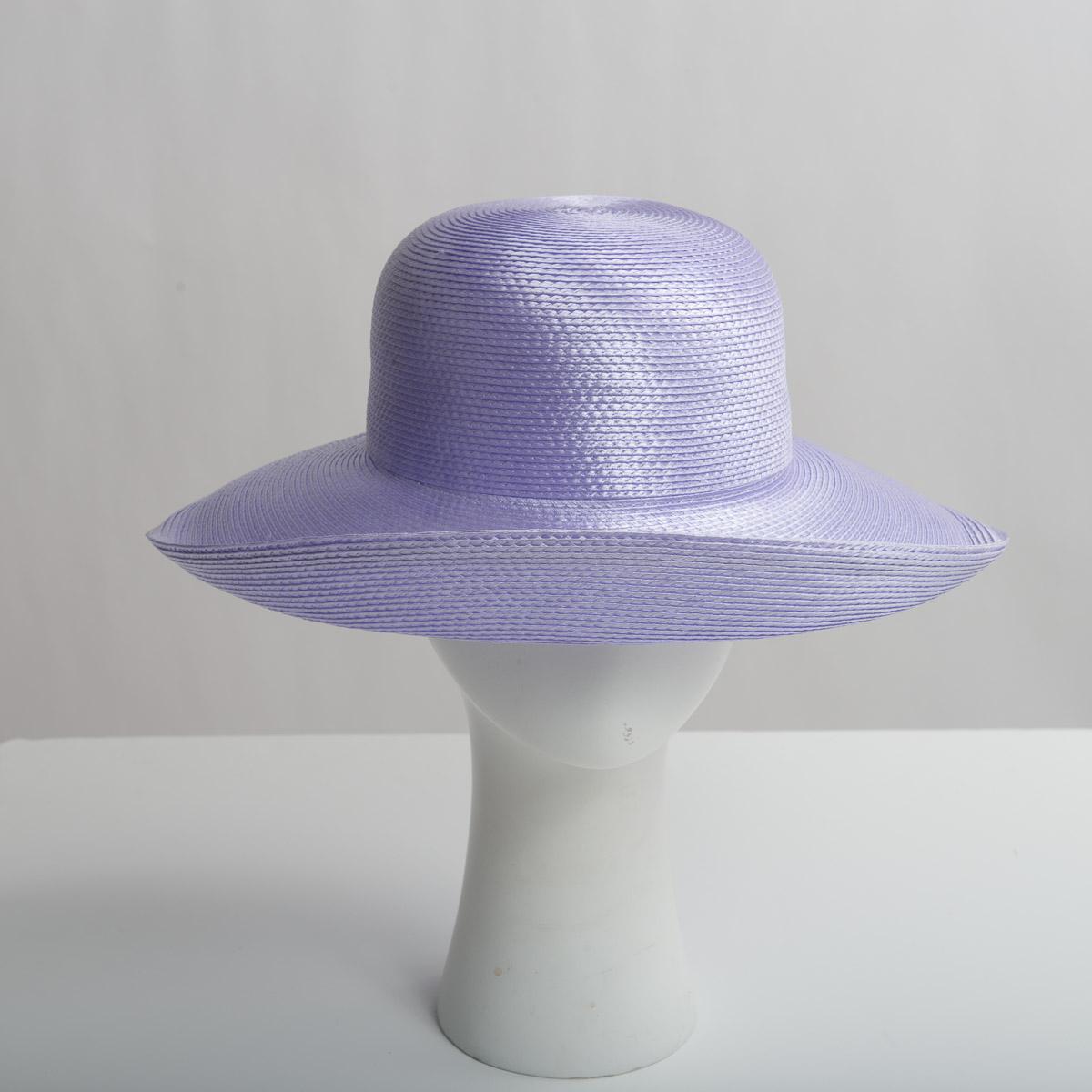 34288811043e37 Lilac Polypropylene Straw Medium Brim Plain Hats-CK01R-0-03- Sun Yorkos |  Zoria