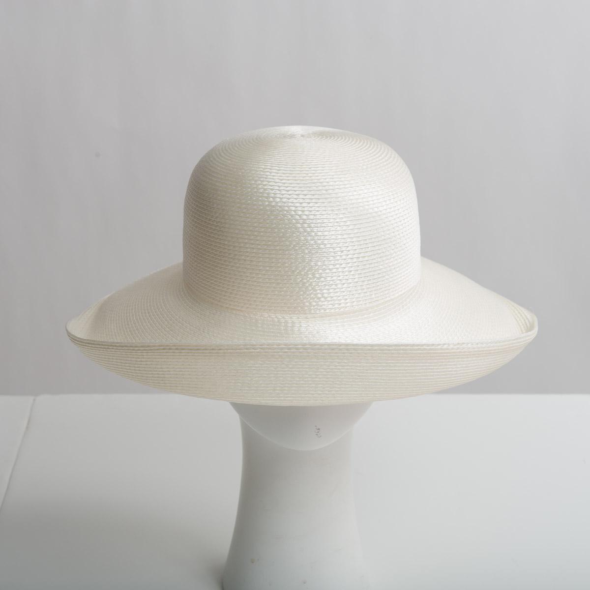 0065b6c38e85fb Ivory Polypropylene Straw Medium Brim Plain Hats-CK01R-0-25- Sun Yorkos |  Zoria