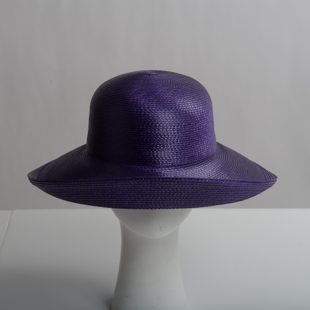 26692be1138b39 Purple Polypropylene Straw Medium Brim Plain Hats-CK01R-0-39- Sun Yorkos |  Zoria
