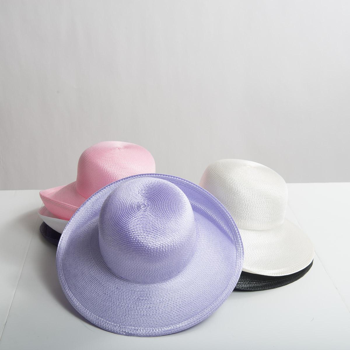 366f1e059e52ac Polypropylene Straw Medium Brim Plain Hats-CK01R-0-Sun Yorkos | Zoria