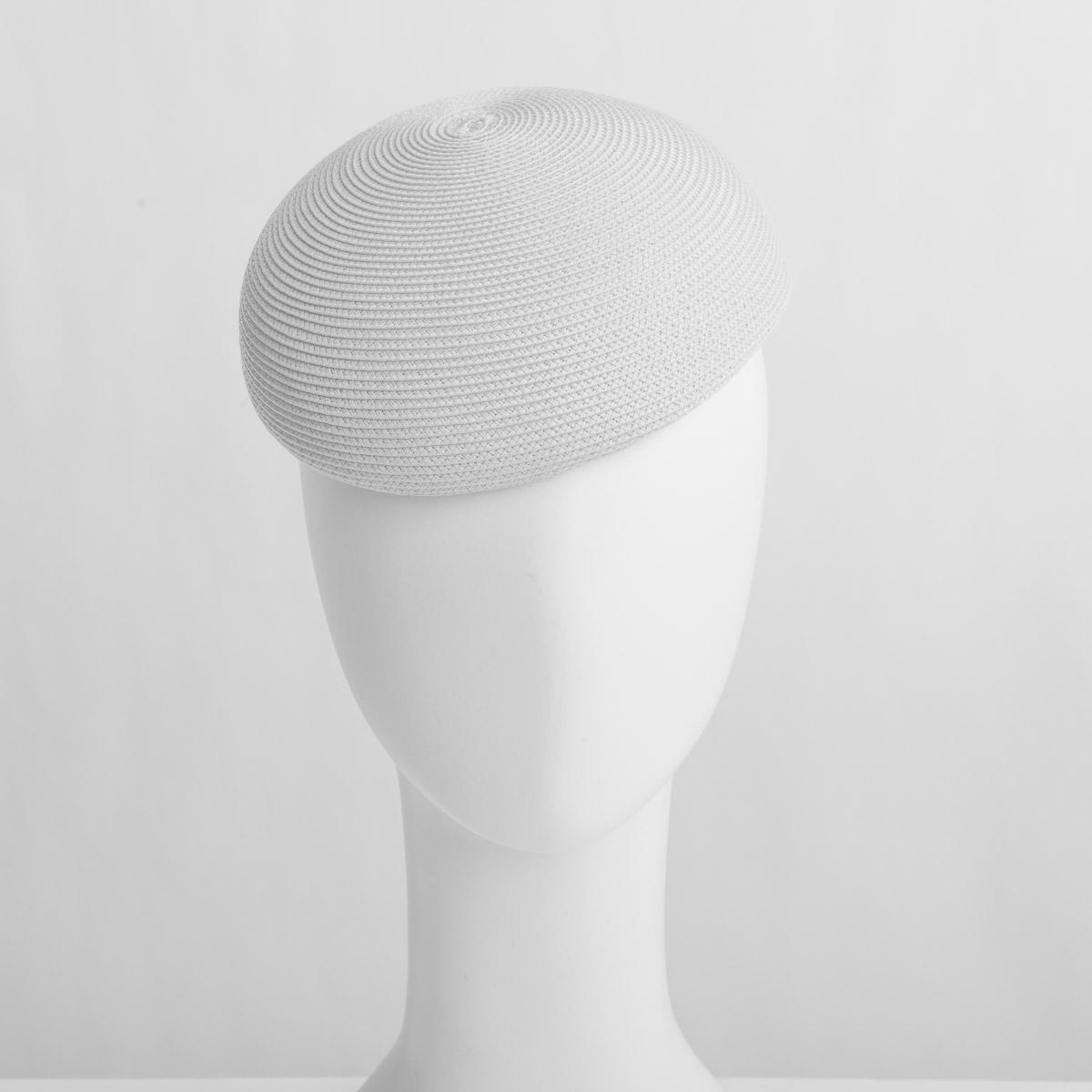 White PP Straw Plain Pillbox Hats-DN88R-06- Sun Yorkos  5371f52a2991