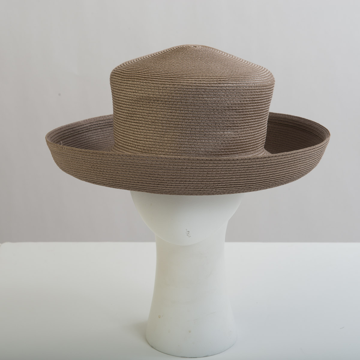 0077ca8ef5390e Taupe Polypropylene Straw Medium Brim Plain Hats-EQ23R-0-26- Sun Yorkos |  Zoria