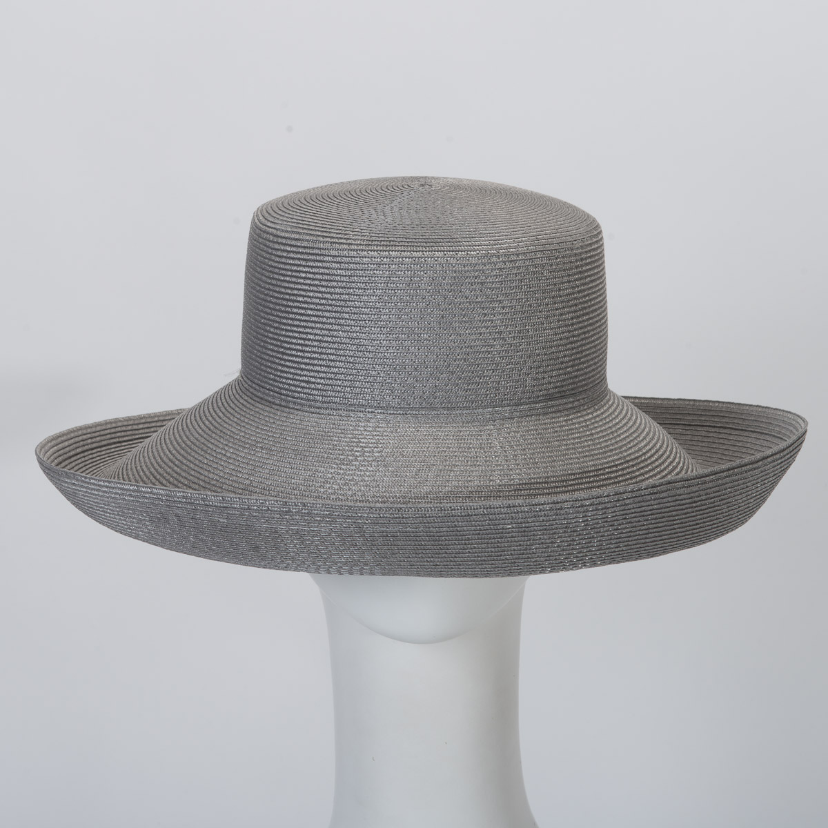 e4e99f70ac69ed Silver Up Brim Poly Poly Blocked Untrimmed Poly Straw Hat Base-Sun Yorkos |  Zoria