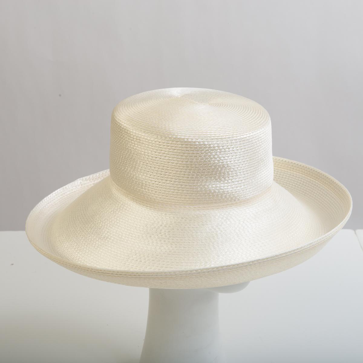 d244410c9ce288 Ivory Polypropylene Straw Wide Brim Plain Hats-FR01R-0-25- Sun Yorkos |  Zoria