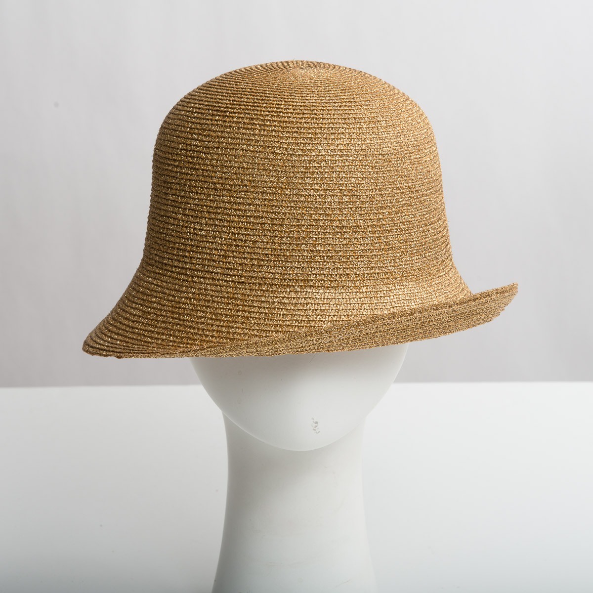 29f717ceb97 Cloche Small Brim Metallic Plain Hats-HK6015-0-Sun Yorkos