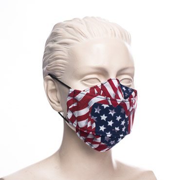 American Flag print Protective Mouth Cover Face Mask