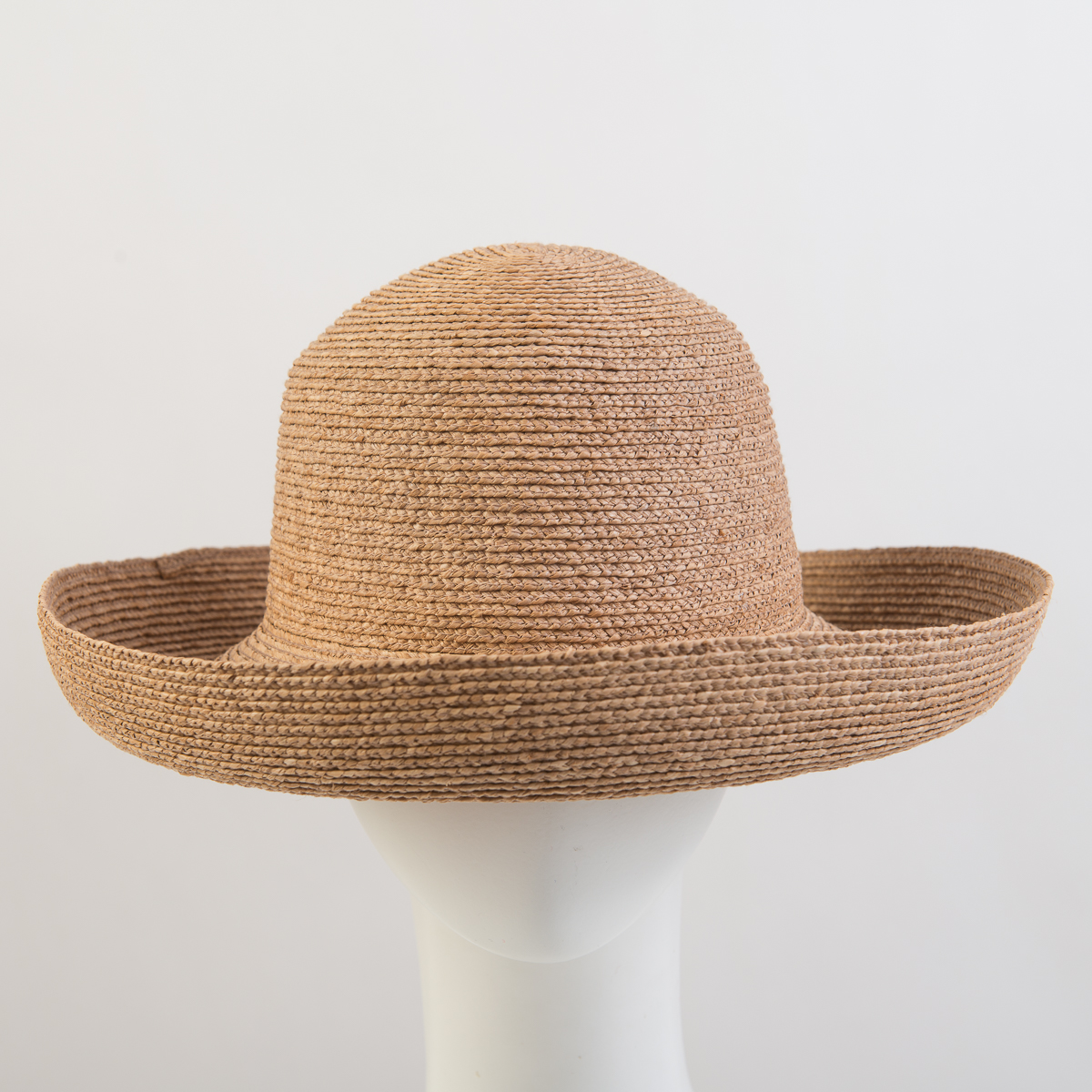 Tea Montana Raffia Blocked Plain Hat Base