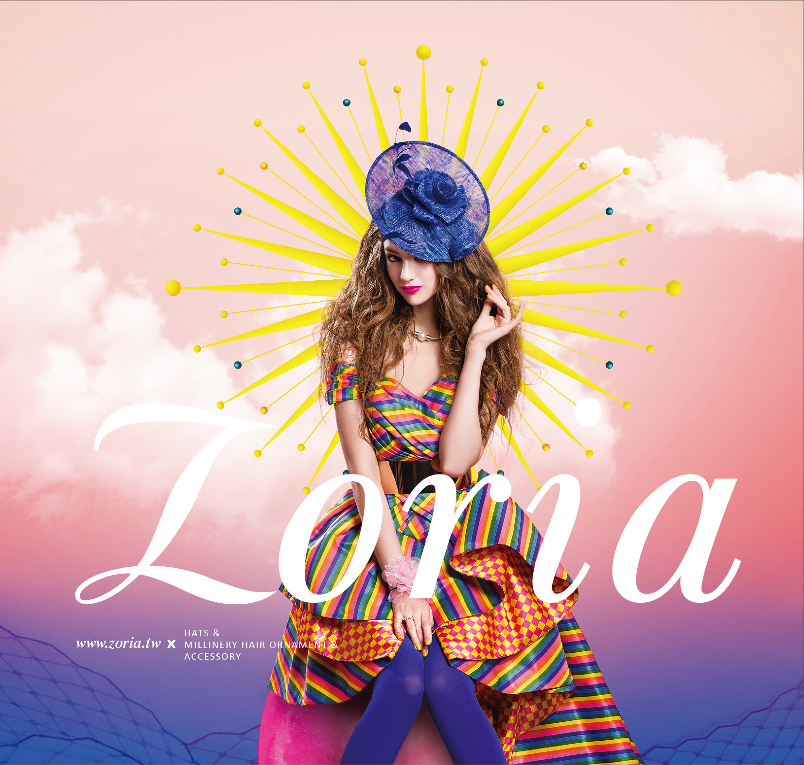 Zoria Branding Brochure :Cover Page