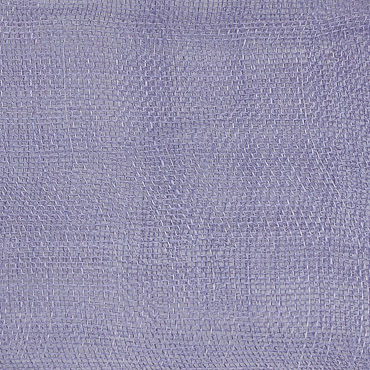 Lilac Medium Stiff Machine Weave Sinamay Fabric; 50M