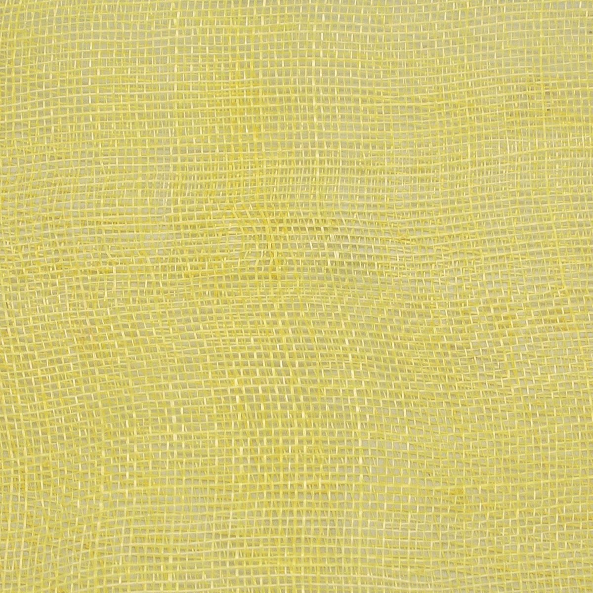Light Yellow Medium Stiff Machine Weave Sinamay Fabric-SH001M-MS-004- Sun  Yorkos  8e335c257c0