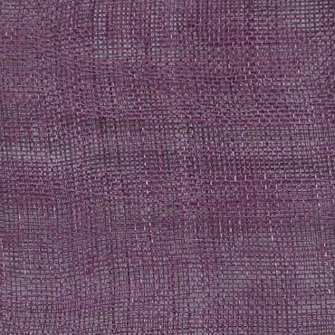 Grape Medium Stiff Machine Weave Sinamay Fabric; 50M