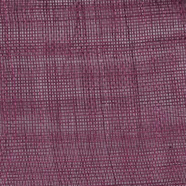 Sparkling Grape Medium Stiff Machine Weave Machine Made Sinamay Fabric; 50M