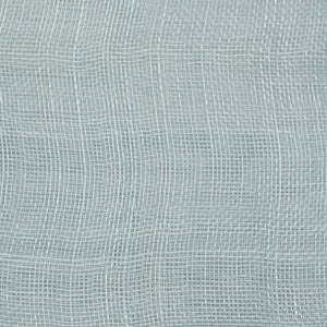 Sky Blue Medium Stiff Machine Weave Sinamay Fabric; 50M