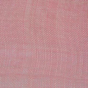Mauve Medium Stiff Machine Weave Sinamay Fabric; 50M