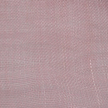 Light Pink Medium Sizing Stiff Sinamay Fabric; 50M