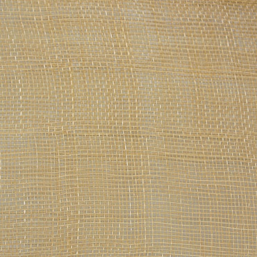 Primrose Medium Sizing Stiff Sinamay Fabric; 50M
