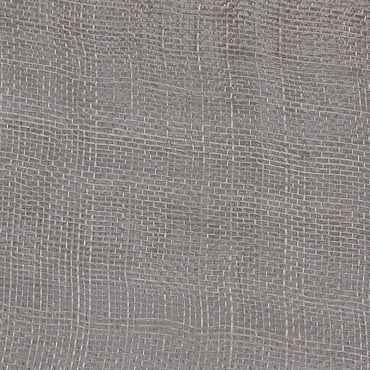 Medium Grey Medium Stiff Machine Weave Sinamay Fabric; 50M