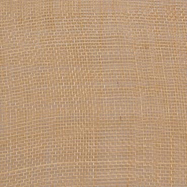 Italian Straw Medium Stiff Machine Weave Sinamay Fabric; 50M