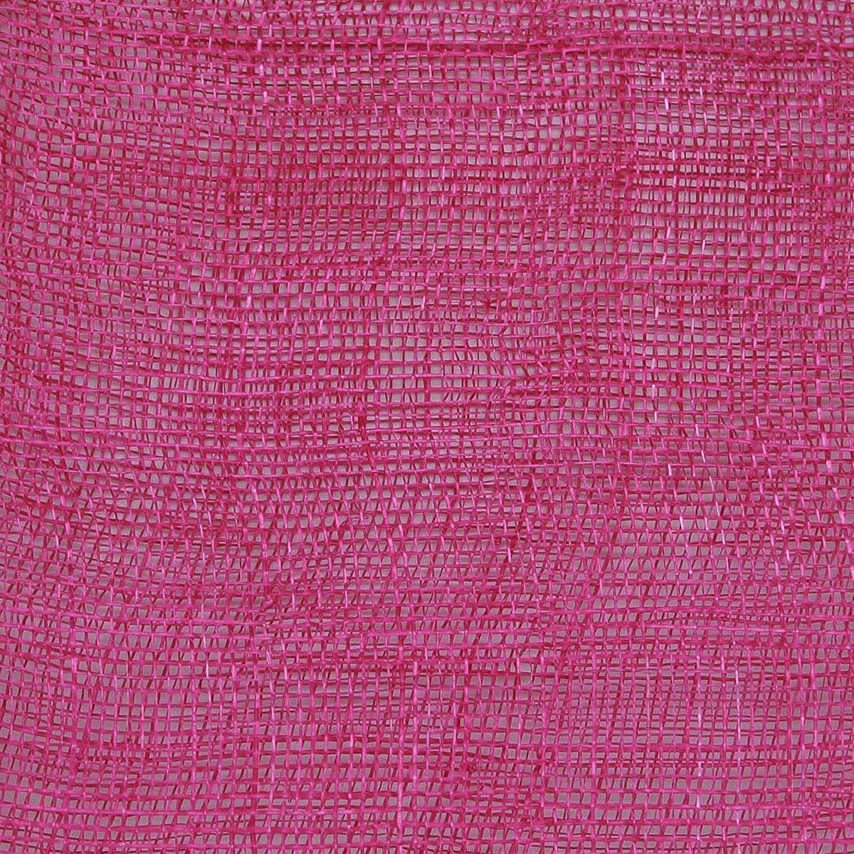 Hot Pink Medium Stiff Machine Weave Sinamay Fabric-SH001M-MS-095- Sun  Yorkos  95757114acb