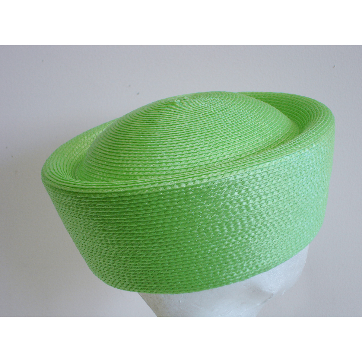 Apple Green Pillbox Plain Hats-UW01R-0-18- Sun Yorkos  9ba681abb97