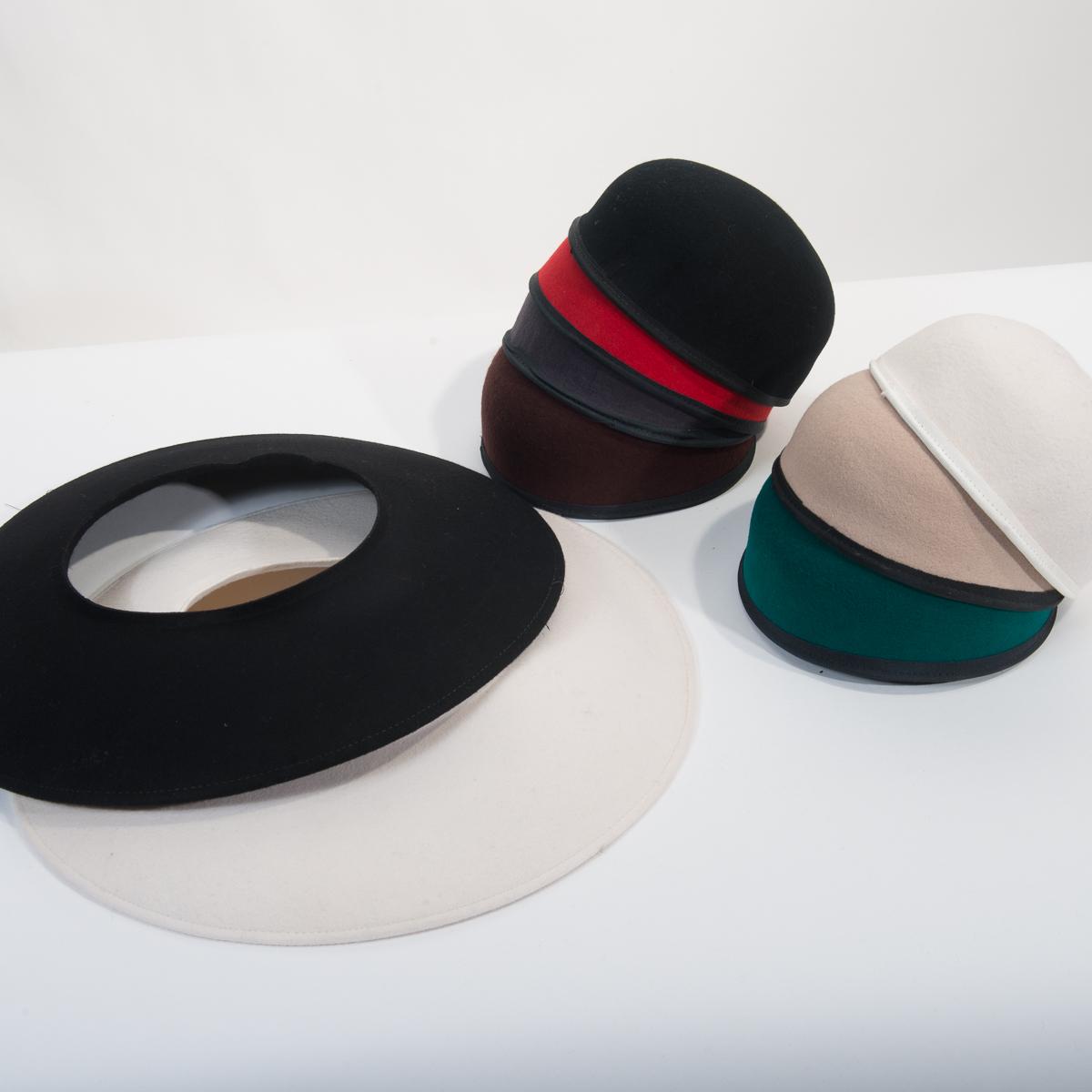 9f9c595f5 Interchangeable Crown and Brim Wool Felt Hat Set-W0223- Sun Yorkos ...