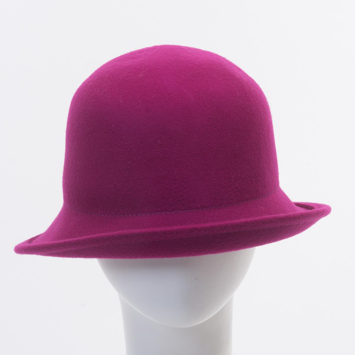 bd1bee6216c FUCHSIA Off Face Cloche Felt Plain Hats-W6015A-FUCHSIA- Sun Yorkos ...