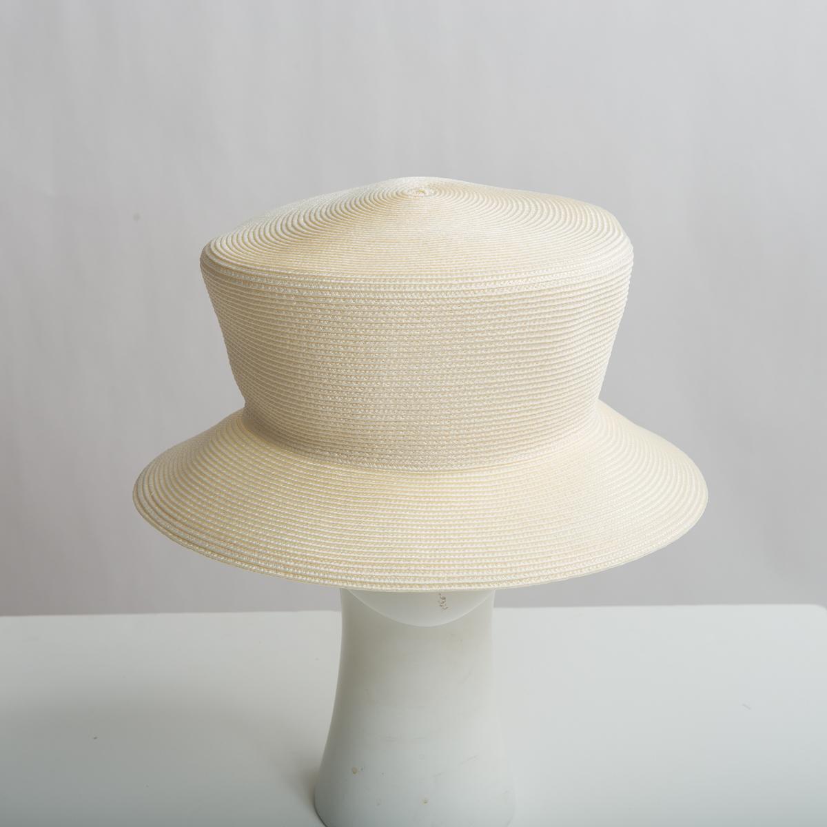 9700d6fbb939e0 Ivory Dull Polypropylene Straw Medium Brim Plain Hats-Y6030_88-23- Sun  Yorkos | Zoria