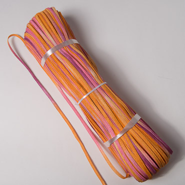 Orange - Pink - Berry Toyo Paper Straw Braids - 288YD