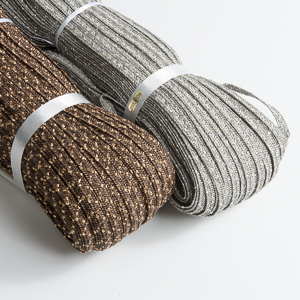 Metallic Blend Toyo Paper Straw Braid
