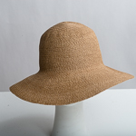 Natural Medium Brim Paper Blend Blocked Untrimmed Hat Base