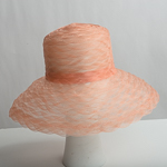 Delicate Weave Crinoline Medium Brim Horsehair Hat Base