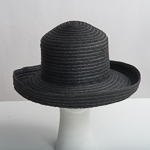 Medium Brim Raffia Straw Blocked Plain Hat Base