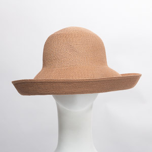 Coffee Toyo Small Breton Untrimmed Hat Base