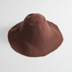 3'' Brim Un-Blocked Luggage Felt Hat Body