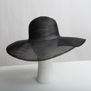 Crinoline Wide Brim Floppy Horsehair Hat Base