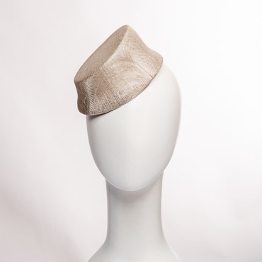 Scalloped Sinamay Millinery Bases