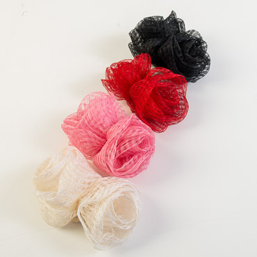 6 Inch Dual Flower Bow Trims