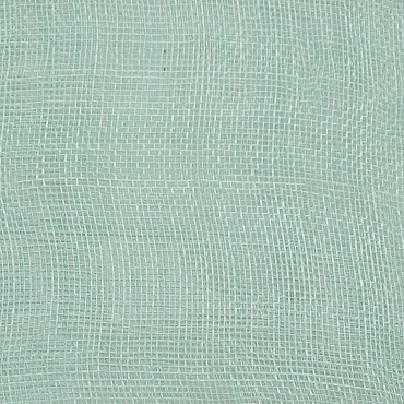 Celadon Medium Stiff Machine Weave Sinamay Fabric; 50M