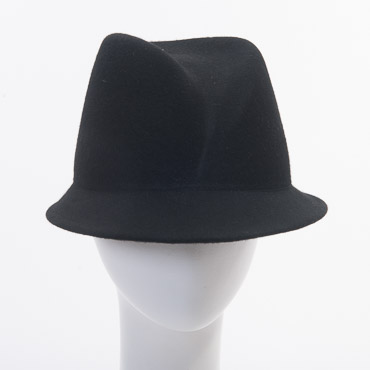 Fancy Fedora Blocked Untrimmed Felt Hat Base