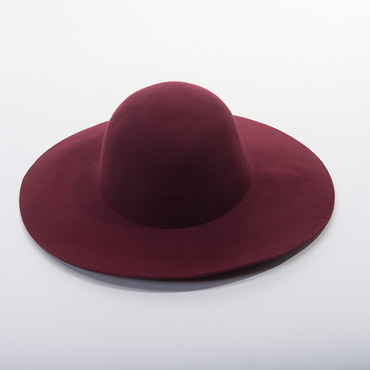 Swinger Blocked Untrimmed Felt Hat Base